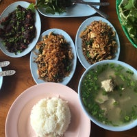 Photo taken at สมหมาย ลาบไก่ by Betty on 2/28/2016
