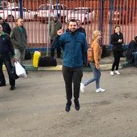 Снимок сделан в Автостанция «Новоясеневская» пользователем Alya V. 4/28/2018