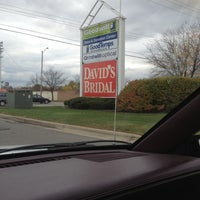 Photo taken at David's Bridal by Drizzy N. on 10/20/2012
