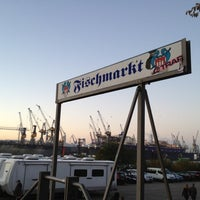 Photo taken at Hamburger Fischmarkt by Marcel N. on 10/28/2012
