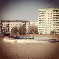 Photo taken at Парк 1- Кирпичный by Elena M. on 4/16/2014