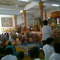 Photo taken at วัดโพธิ์พุฒตาล by Bang-orn S. on 10/27/2013