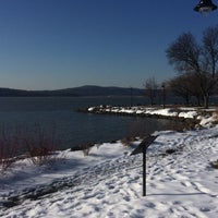 Photo taken at Dobbs Ferry Waterfront Park by Vika S. on 2/14/2017