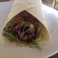 Photo taken at Pilgrims Vegetarian Cafe by Beccy M. on 8/3/2014