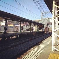 Photo taken at Fukakusa Station (KH33) by yuichiro k. on 10/20/2012