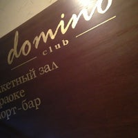 Photo taken at Domino Club by Донат М. on 2/19/2013