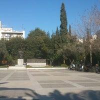 Photo taken at Davaki Square by Eleni S. on 2/27/2013