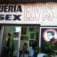 Photo taken at Peluqueria Elvis by Patricio I. on 2/2/2013