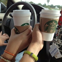 Photo taken at Starbucks by Lyndsay M. on 9/29/2012