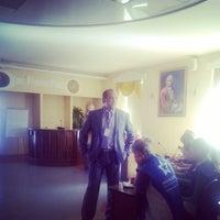 Photo taken at Актовый Зал САФУ by Mikhail I. on 5/14/2014