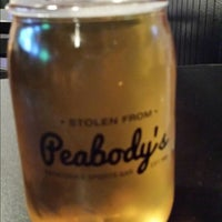 Photo taken at Peabody's Sports Bar & Grill by suzanne m. on 8/22/2013