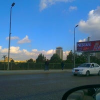Photo taken at 6th October Bridge by Wessam A. on 1/5/2013