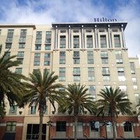 Photo taken at Hilton San Diego Gaslamp Quarter by Robert K. on 10/1/2013