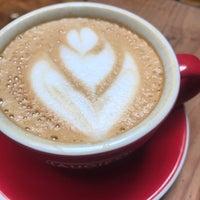 Photo taken at Augie's Coffee Roasters by Robert K. on 4/27/2017