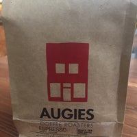 Photo taken at Augie's Coffee Roasters by Robert K. on 11/19/2016