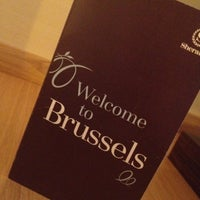 Photo taken at Sheraton Brussels Airport Hotel by Dasha P. on 10/29/2012