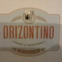 Photo taken at Orizontino Bar e Cultura by Bruno Tardelle F. on 10/28/2012