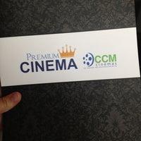 Photo taken at CCM Cinemas by Jimena M. on 1/14/2013