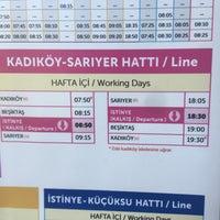 Photo taken at İstinye İskelesi by Eren G. on 8/1/2017