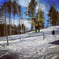 Photo taken at Dunn County Snowpark by Alec F. on 12/14/2012