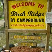 Photo taken at Birch Ridge RV Campground by Todd H. on 5/27/2013