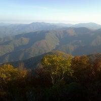 Photo taken at Wayah Bald by Justin C. on 10/13/2012