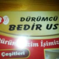 Photo taken at Dürümcü Bedir Usta by Osman Z. on 1/1/2013
