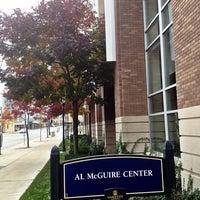 Photo taken at Al McGuire Center by Sobelman B. on 10/6/2012