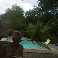 Photo taken at Moulin de Gouty by Emilie L. on 8/15/2017