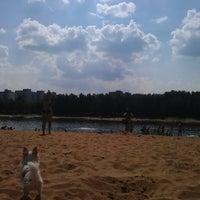 Photo taken at Зарёвское озеро by Kraynusha :. on 7/4/2013