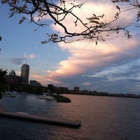 Photo taken at Running The Charles River by Atinuke D. on 10/8/2013
