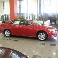 Photo taken at Mike Calvert Toyota by BossHog J. on 10/10/2012