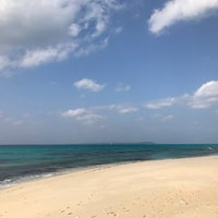 Photo taken at Nagamahama Beach by そうるDX on 1/1/2018