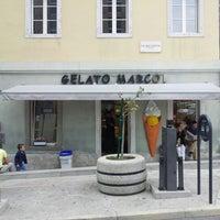Photo taken at Gelato Marco by Davide B. on 10/7/2012