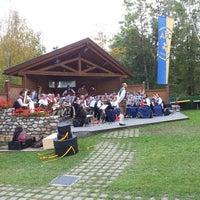 Photo taken at Oberolang / Valdaora di Sopra by Davide B. on 10/6/2013