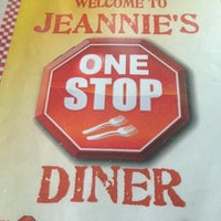 Photo taken at Jeannie's One Stop Diner by John P. on 2/3/2013