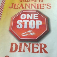 Photo taken at Jeannie's One Stop Diner by John P. on 1/30/2013