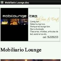 Photo taken at mobilounge tap by Alejandro A. on 9/26/2012