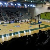 Photo taken at Matosinhos Sport - Pavilhão Municipal by Simao S. on 8/1/2013