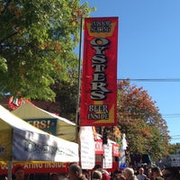 Photo taken at Oysterfest by Zen R. on 10/20/2013