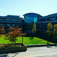 Photo taken at Douglas College (David Lam Campus) by Benny H. on 4/7/2016