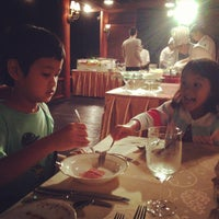 Photo taken at Le Crystal Restaurant by Govit T. on 9/28/2013