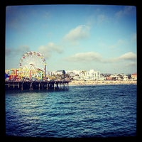 Photo taken at Santa Monica Pier by Kevin M. on 7/6/2013