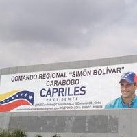 Photo taken at Comando Simon Bolivar by Giovanna on 4/16/2013