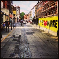 Photo taken at Exmouth Market by Michael P. on 6/30/2013