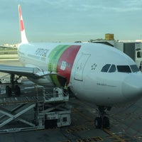 Photo taken at TP103 LIS-CNF / TAP Portugal by Max S. on 1/2/2018