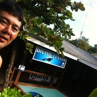 Photo taken at TGI Diving School by Max S. on 12/30/2012