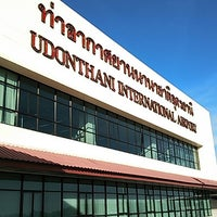Photo taken at Udon Thani International Airport (UTH) by Y U. on 6/7/2013