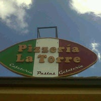 Photo taken at Pizzeria La Torre by Paola C. on 9/26/2012