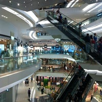 Photo taken at Festival Walk by Omer on 10/7/2012